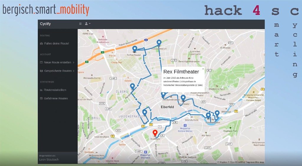 hack4sc Cyclify Screenshot