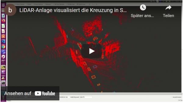 LiDAR-Sensorik in Solingen auf YouTube
