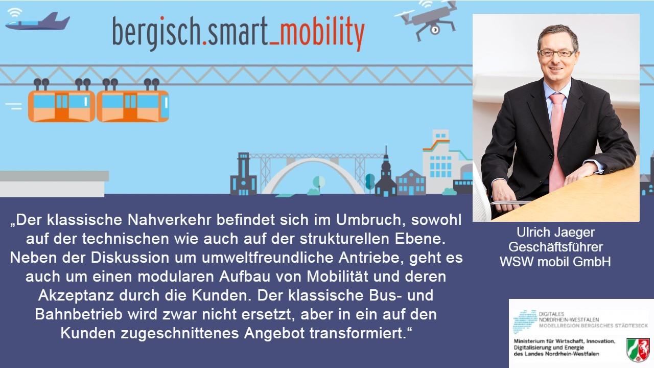 Beitragsbild Interview Ulrich Jaeger, WSW mobil GmbH