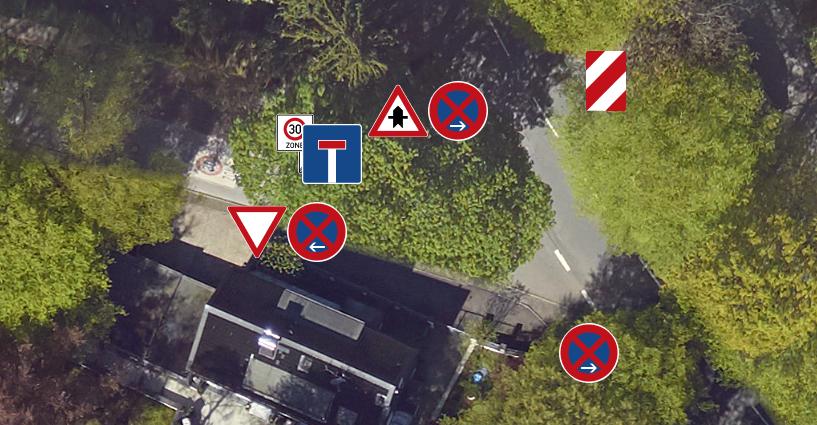Main image Digital street sign register