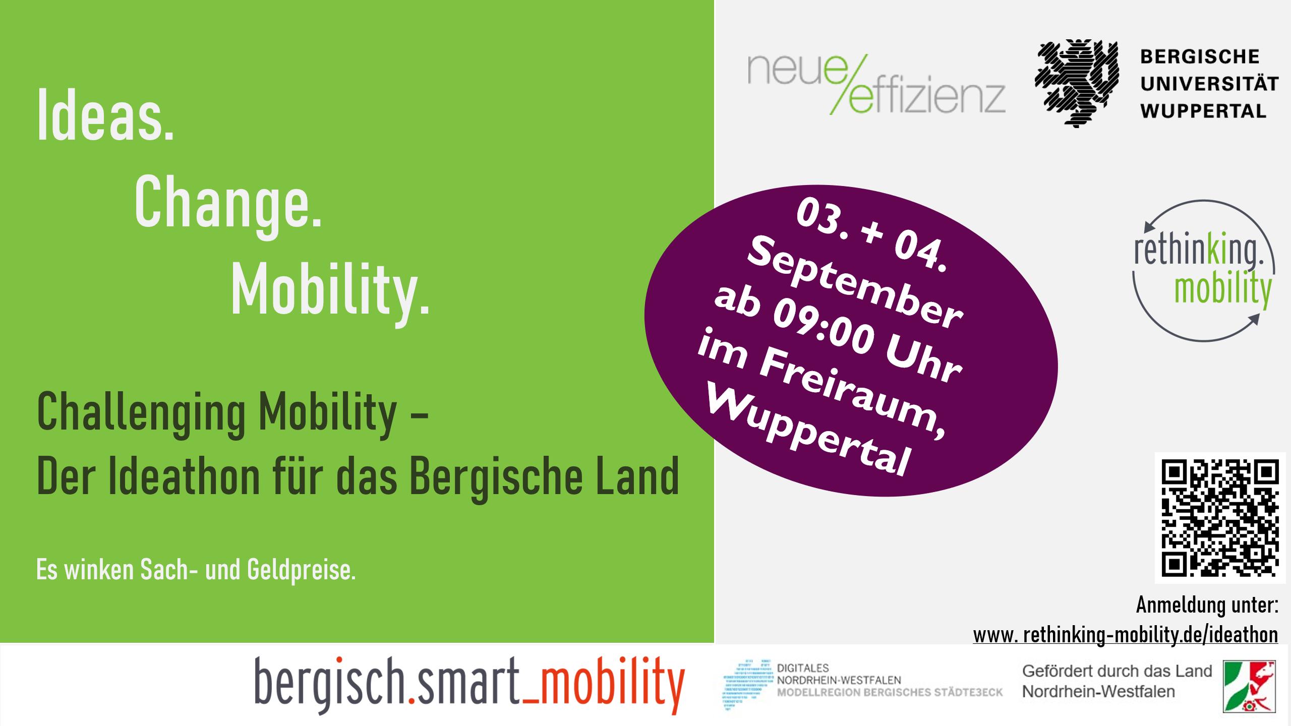 Rethinking Mobility Ideathon Titelbild