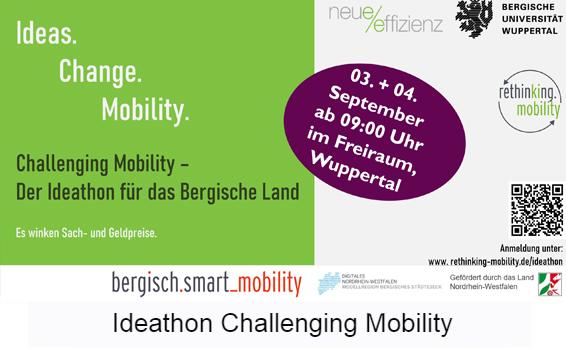 Galeriebild Ideathon Challenging Mobility