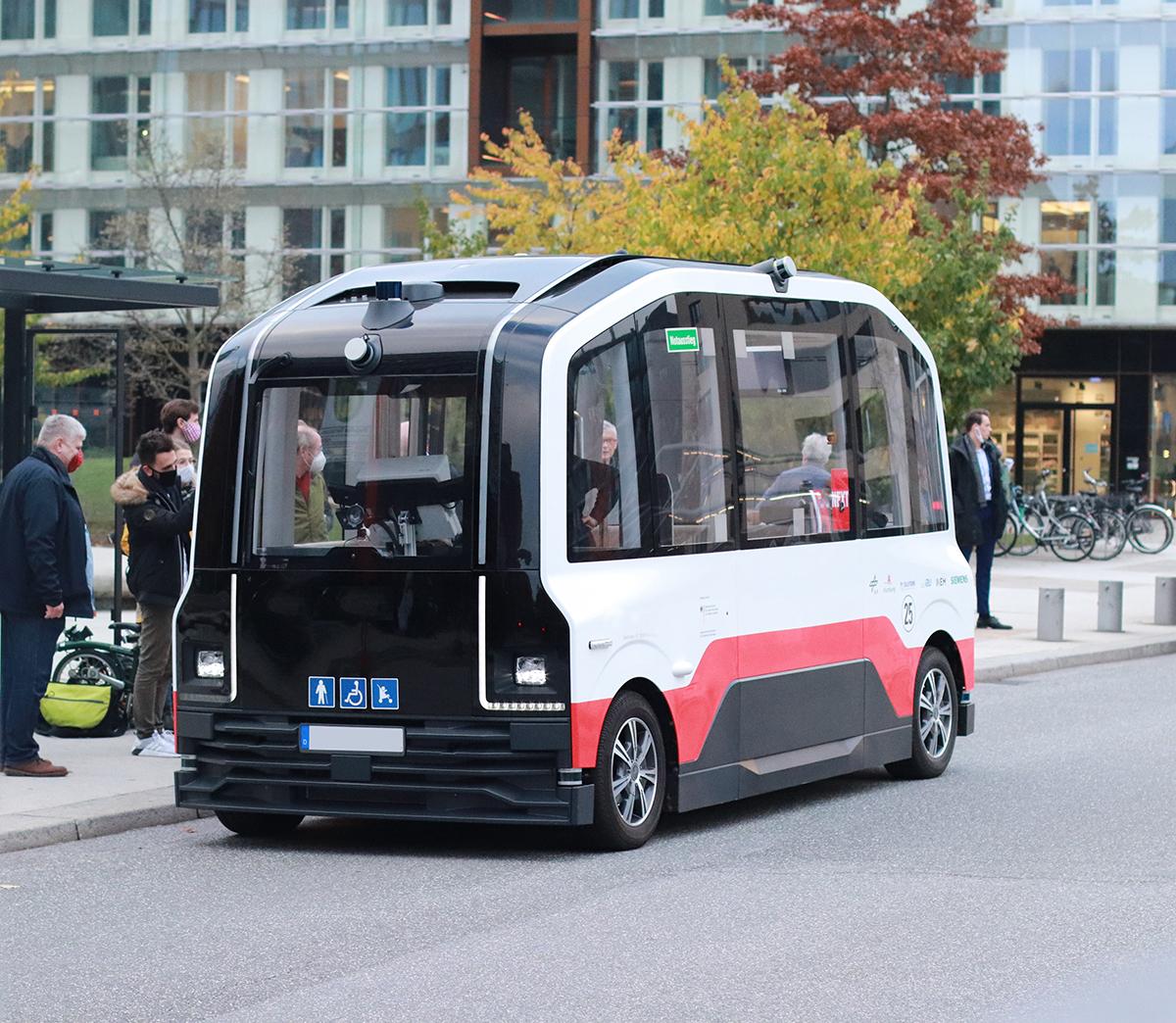 Automatisierte Shuttlebusse